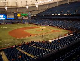 Tampa Rays Seating Chart Tropicana Field Section 215 Seat Views Seatgeek