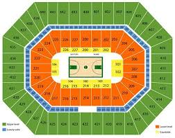 Milwaukee Bucks Seating