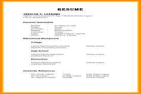 Character Reference Format Resume Plks Tk