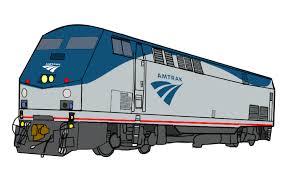 amtrak train drawing. Wonderful Amtrak Amtrak P42DC By RailToonBronyFan3751  For Train Drawing