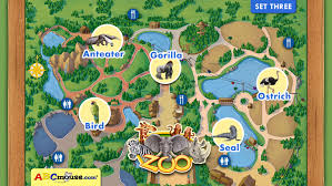 simple zoo map for kids. Contemporary Simple ABCmousecom Zoo Set 3 Screenshot 2 And Simple Map For Kids