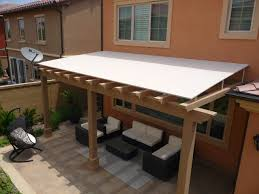 furniture deck. Fancy Outdoor Wood Awning Ideas For Your Exterior Design: Comfy Trellis Pergola Roofing With Designs Feat Furniture Deck