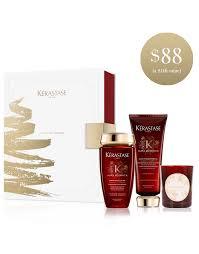 kerastase aura botanica candle gift set for remarkably shiny healthy hair