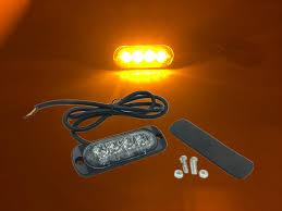 Us 184 0 20x 4w Led Emergency Car Warning External Light Police Motorcycle Grill Light Ultra Thin Strobe Truck Flash Ambulance Light 12v In Car