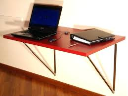 fold away office desk. Fold Away Office Desk Up Wall Laptop I Like The Idea Of