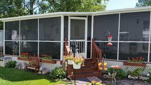 mobile home screen enclosure