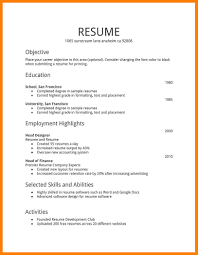 Resume Format Simple Resume Format Template Google Pdf Latex Docs Indesign Free 27