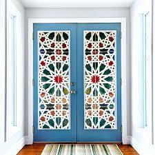 vinyl stickers for doors kaleidoscope color vinyl glass door wall sticker door window mural home bathroom vinyl stickers for doors