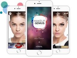 augmented reality makeup app
