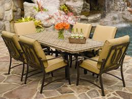 stone patio table. Amazing Of Stone Top Patio Table Tables Ideas Homesfeed House Decorating Photos C