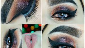 how to eye makeup featuring burgundy eyeshadow cat eyeliner chagne shimmer neutral colors eyeshadow tutorial makeup foundation video dailymotion