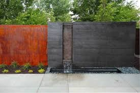 incredible outdoor wall fountain modern in furniture stone garden for idea from clearance kit large with