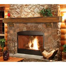 image of wood fireplace mantels san go
