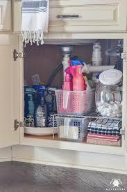Kitchen Appliance Shop Organization For Under The Kitchen Sink Kelley Nan