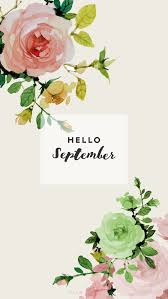 hello september flowers wallpaper hd 2017