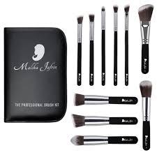 designer beauty makeup brush set