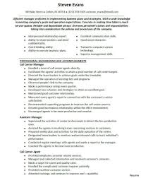 Call Center Skills Resume Call Center Supervisor Resume Skills Best Template Collection 4