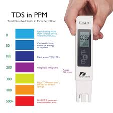 Water Quality Test Meter Pancellent Tds Ph Ec Temperature 4 In 1 Set Blue