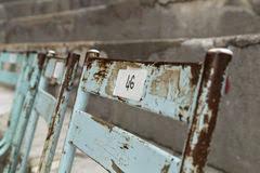 Sedie Francesi Antiche : Sedie antiche del teatro fotografia stock immagine
