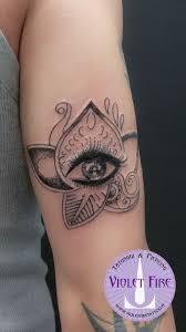 Tatuaggio Mehndi Occhio Su Braccio Tatuaggio Fiore Di Loto