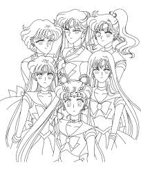 Small Picture Best Sailor Moon Coloring Pages Coloring Coloring Pages