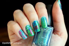 Nail art │ Under the sea inspired nail design [Nail Crazies Unite ...