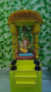ganpati decoration ideas at home decoration for pooja