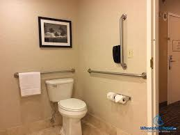 Handicapped Bathroom New The Good Bad Of ADA Accessible Hotel Bathrooms WheelchairTravelorg