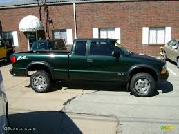 2002 Forest Green Metallic Chevrolet S10 ZR2 Extended Cab 4x4 ...