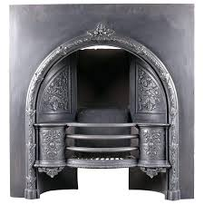 36 fireplace grate inch high screen cast iron