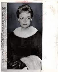 1958, June Lockhart divorce John Maloney - Historic Images