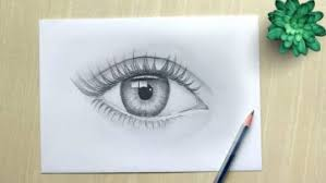 How To Draw Eyes Step By Step Bizimtube Creative Diy Ideas Crafts And Smart Tips