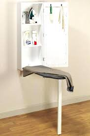 wall mounted iron boards pull ironing board cabinet white