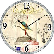 Small Picture Large retro wall clocks uk
