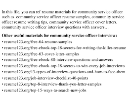 breakupus fascinating what is a resume fcggto fair homepage breakupus fetching top community service officer resume samples divine top community service officer resume samples