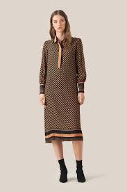 Designer Long Midi Dresses Sirius Long Sleeve Midi Dress