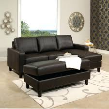 lidia 82 fabric 2 pc brown leather reversible sectional and storage ottoman with chaise 3pc contemporary grey microfiber sofa