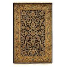 chantilly black 8 ft x 11 ft area rug