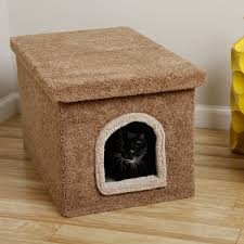 corner cat litter box furniture. Simple Litter Cozy Cat Litter Box Ideas Made Of Furry Material Decorated On The Corner  House On Corner Cat Litter Box Furniture