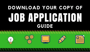 Job Application Guide - Things To Consider When Sending Your Job ...