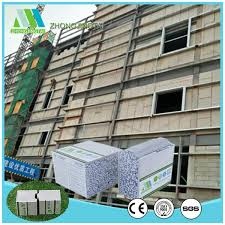 china construction material partition wall board heat insulation eps sandwich panel china partition wall board sandwich wall board