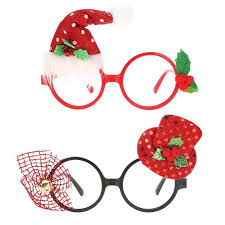 Christmas Photo Frames For Kids Us 0 65 23 Off 1pc Christmas Ornaments Glasses Frames Decor Evening Party Toy Fir Kids New Year Gifts Christmas Decoration Glasses In Pendant Drop