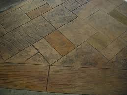 Stamped Concrete Kitchen Floor Adorable Home Exterior Decoration Ideas Using Stamped Concrete
