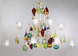 Tredici Design Murano Früchte Kronleuchter