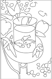 Small Picture Free Fish Bowl Coloring Page Coloring Coloring Pages