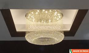 big size ring crystal pendant ceiling fixture chandelier