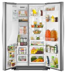 kenmore 51133. kenmore - 51763 24.8 cu. ft. side-by-side refrigerator stainless steel | sears outlet 51133