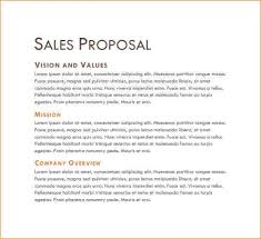 Business Sale Proposal Template Business Sales Proposal Sample