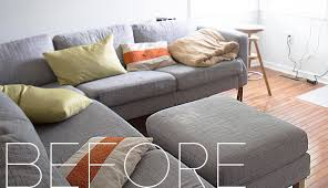 couch slipcovers before and after. Interesting Couch Finally AFFORDABLE IKEA Sofa Slipcovers August 9 2016 For Couch Slipcovers Before And After O