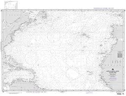 Amazon Com Nga Chart 120 North Atlantic Ocean Southern